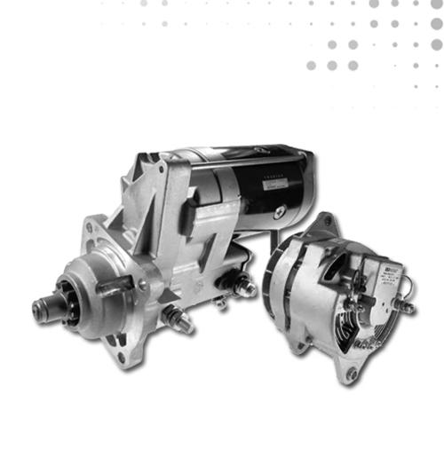Alternadores, Motores de Arranque, Bujías y Calentadores